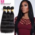 Unprocessed Virgin Brazilian Hair Yaki Human Hair Bundles 3 Italian Coarse Yaki Kinky Straight Virgin Hair Light Yaki Unice Hair