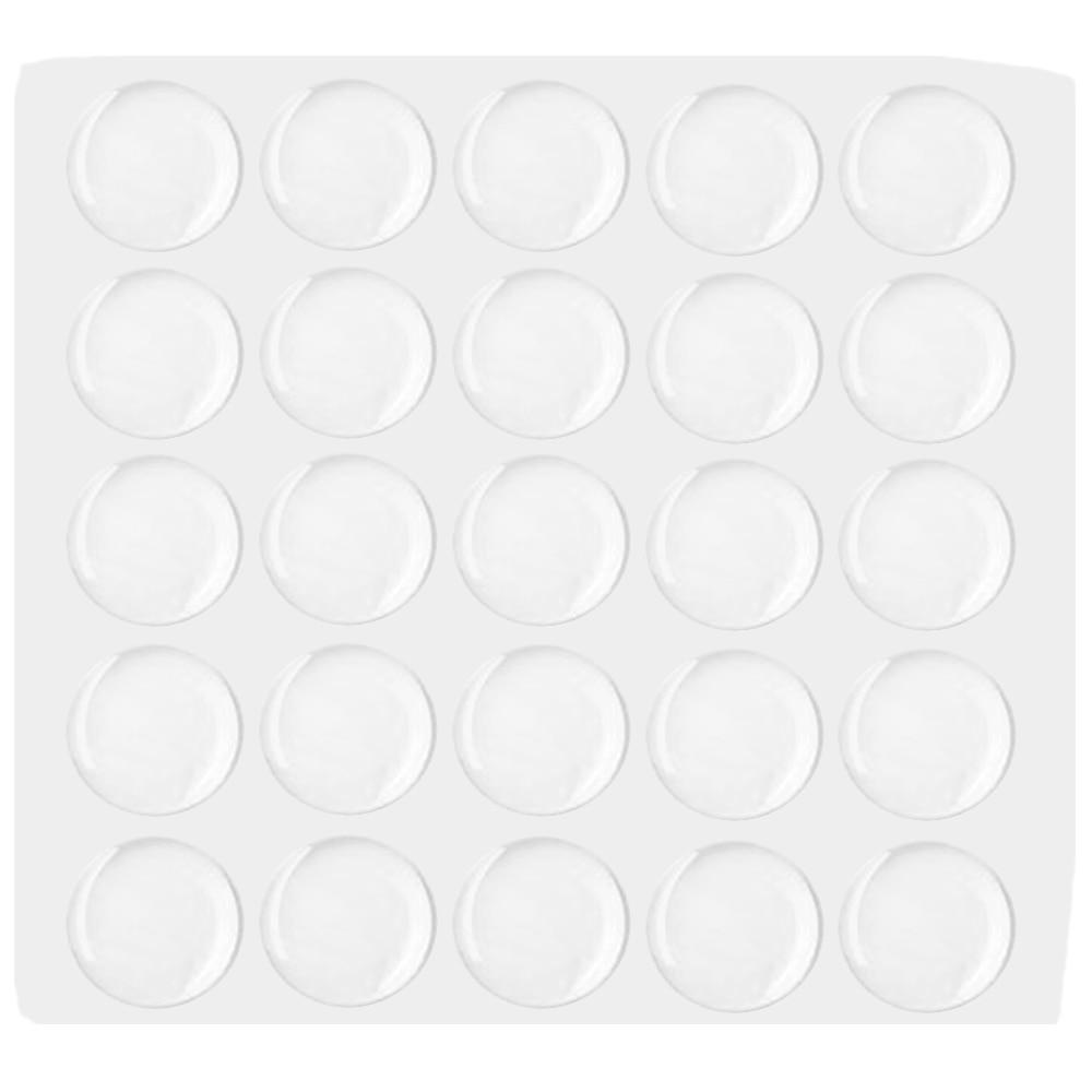 25Y15151 25*25 мм круглый 3D прозрачный эпоксидный клей КРУГИ наклейки на крышечки для бутылок