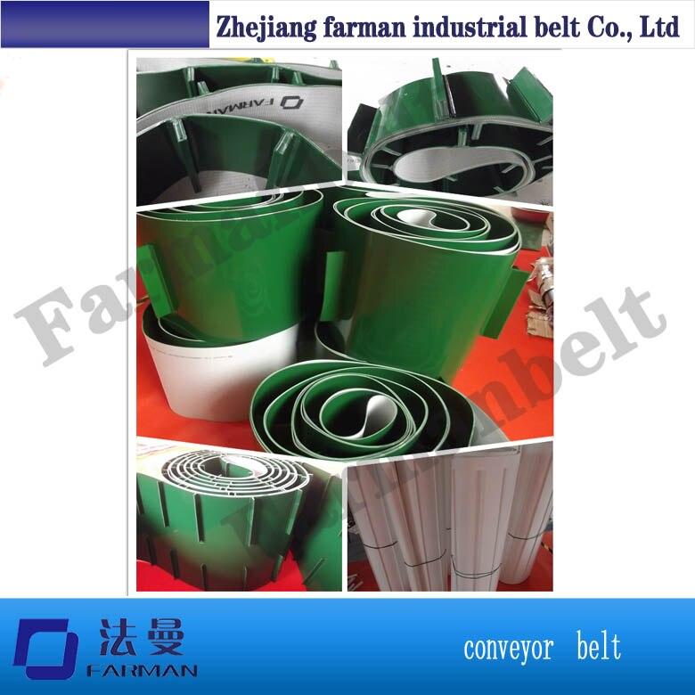 PVC/PU conveyor belt baffle belt все цены
