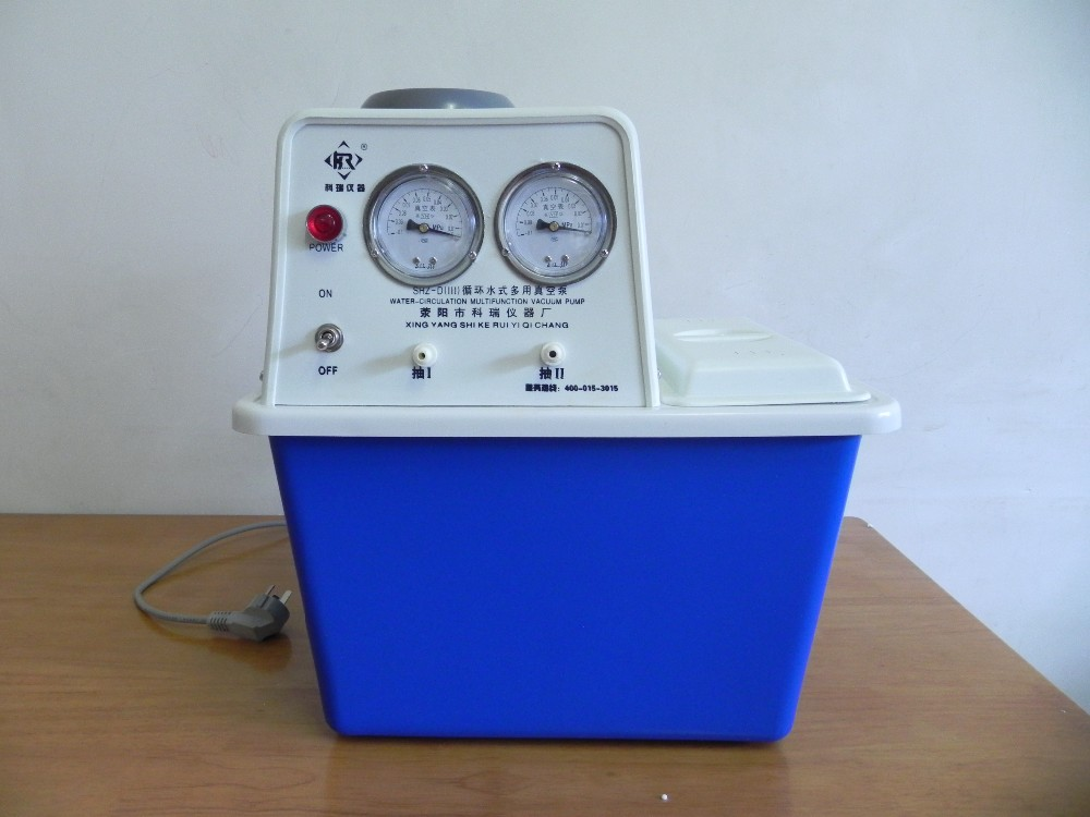 цена на SHZ-D(III) Laboratory circulating vacuum water aspirator pump /Vacuum pump for Glass Reactor &Rotary Evaporator