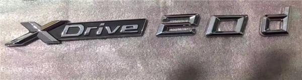 Pair Chrome Car XDrive Logo Emblem Trim Styling Sticker X Drive for BMW xdrive 20d For X1 X3 X4 X5 X6 xdrive 20d chromed
