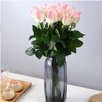 1 unids rose amante roses vestido de casa de gama alta Flores Artificiales flor