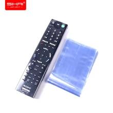 Filme termo retrátil sikai para apple, samsung, lg tv ar condicionado, capa com controle remoto, filme encolhível de calor com 10 peças capa para controle remoto da tv