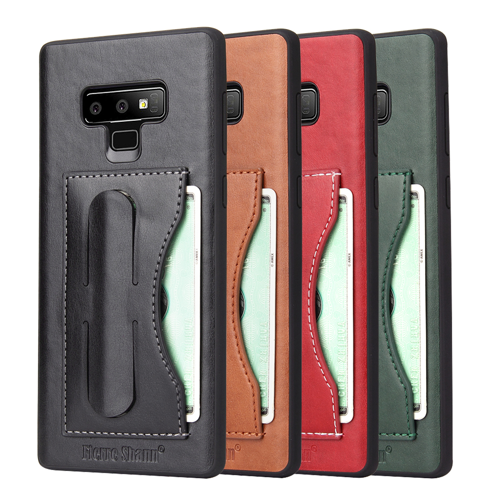 HYAIZLZ for Galaxy Note 9 Case Soft Wallet Stand Leather Back Case Note 9 Cover with Card Slot for Samsung Note 9 Fundas Shell visa