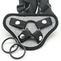 Grey velvet strap on dildo harness for gay,velvet Strap-ons bottom for Dildos, Strap on dildo Pants Fit for Different Size Penis