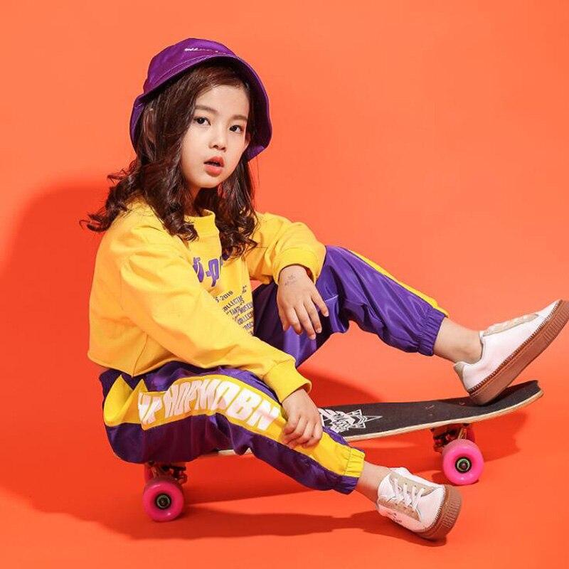 Compre Kid Camiseta Amarilla Sudadera Pantalón De Chándal Ropa Hip ... b2368b6a0f5