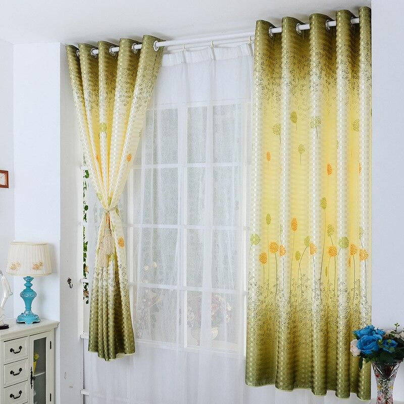 hot sale highquality semi shade curtain cloth short curtains window curtain