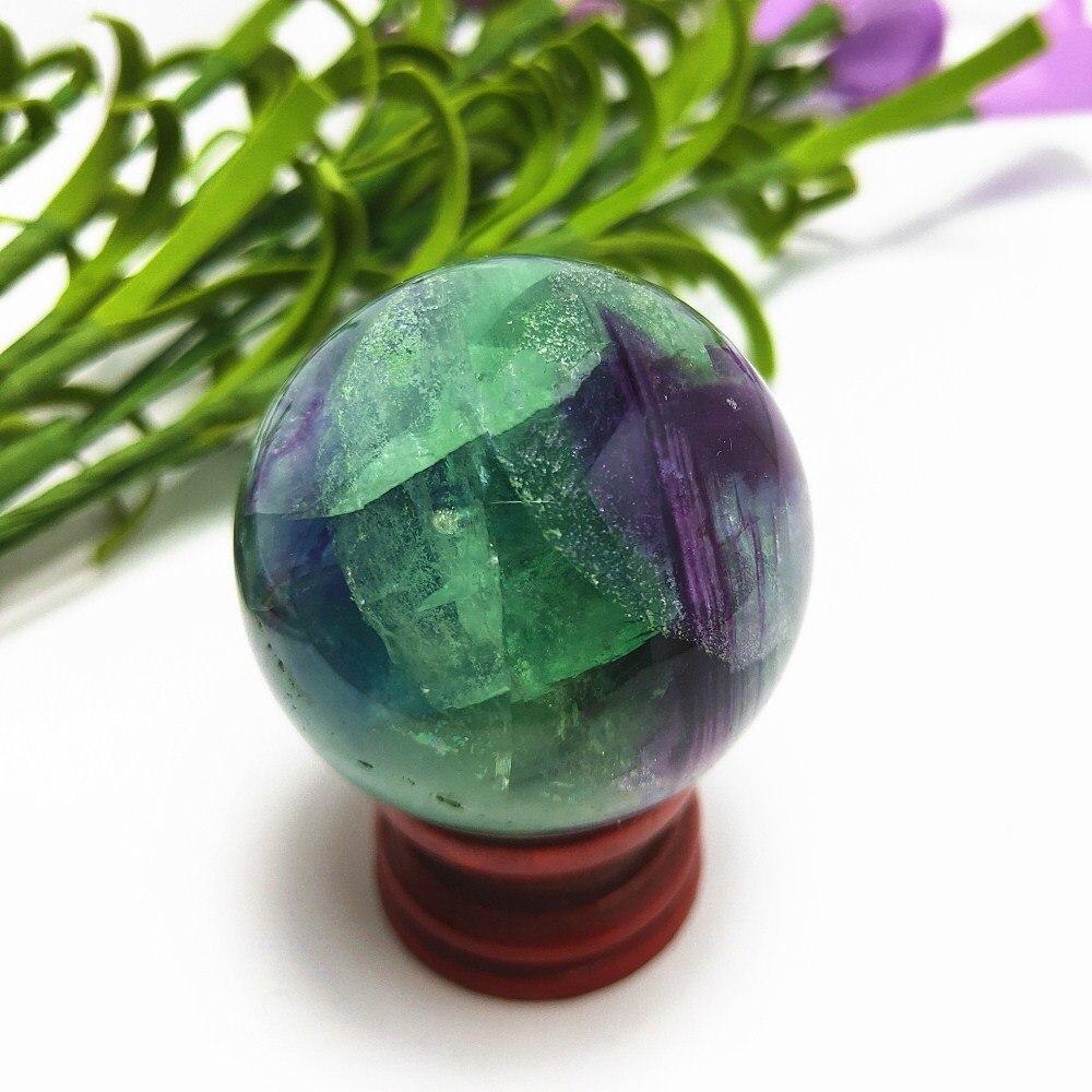 Хрустальный шар, лечебный камень, флуоресцентная Сфера, натуральный кварцевый шар, Настольный украшения для дома Crafts