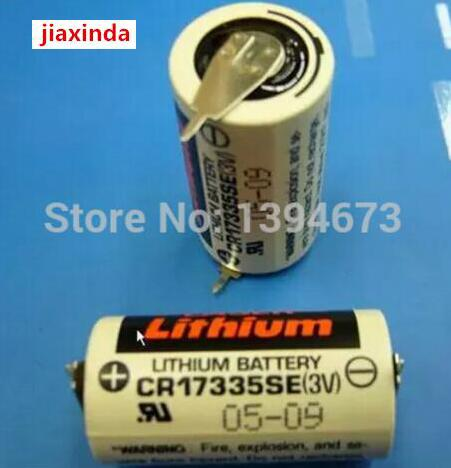 jiaxinda HOT NEW CR17335SE CR17335 PLC 3V lithium battery Li ion battery feet foot leg