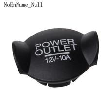 Universal Auto Car 21mm 22mm 12V Power Socket Lighter Cigarette Outlet Cover Cap
