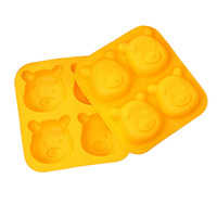Bear Shape Silicone/Chocolate/Jelly Ice Molds Cookie Mold Cake Molds Decorating DIY Bakeware Baking/pastry Tools