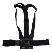 Adjustable Chest Strap Belt Physique Tripod Harness Mount For Gopro Hero 5 four three+2 1 SJCAM Xiaomi Yi Digicam Equipment
