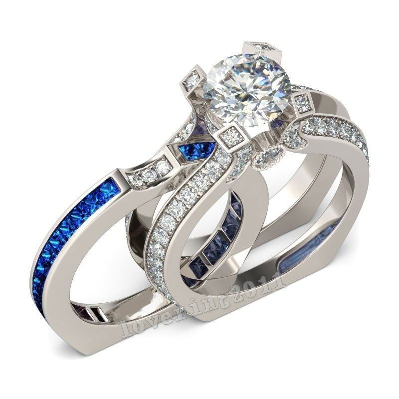 victoria wieck luxury women jewelry sapphire cz diamond ring 925 sterling silver women engagement wedding band ring sz 5 11 gift