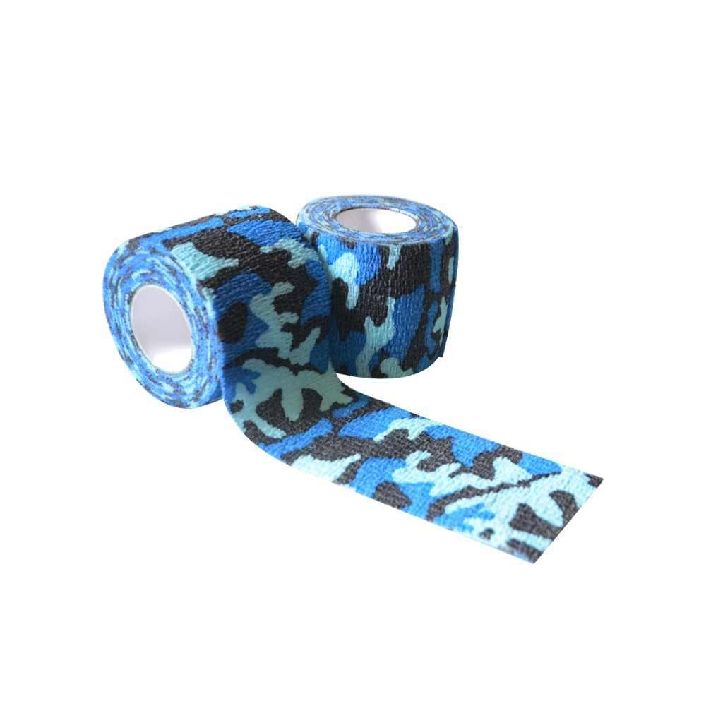 3 لفات طول الذاتي لاصق مرونة كامو ضمادة الألوان لعبة الحرب cs الادسنس الصيد الرماية التمويه الشريط 4.5 m * 5 سنتيمتر