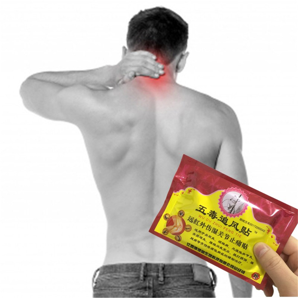 MIYUELENI 8 Pieces/Bag Pain Relief Patch 7*10 CM Chinese Medical Centipede Venom Essential oil Back/Muscle Pain Killer
