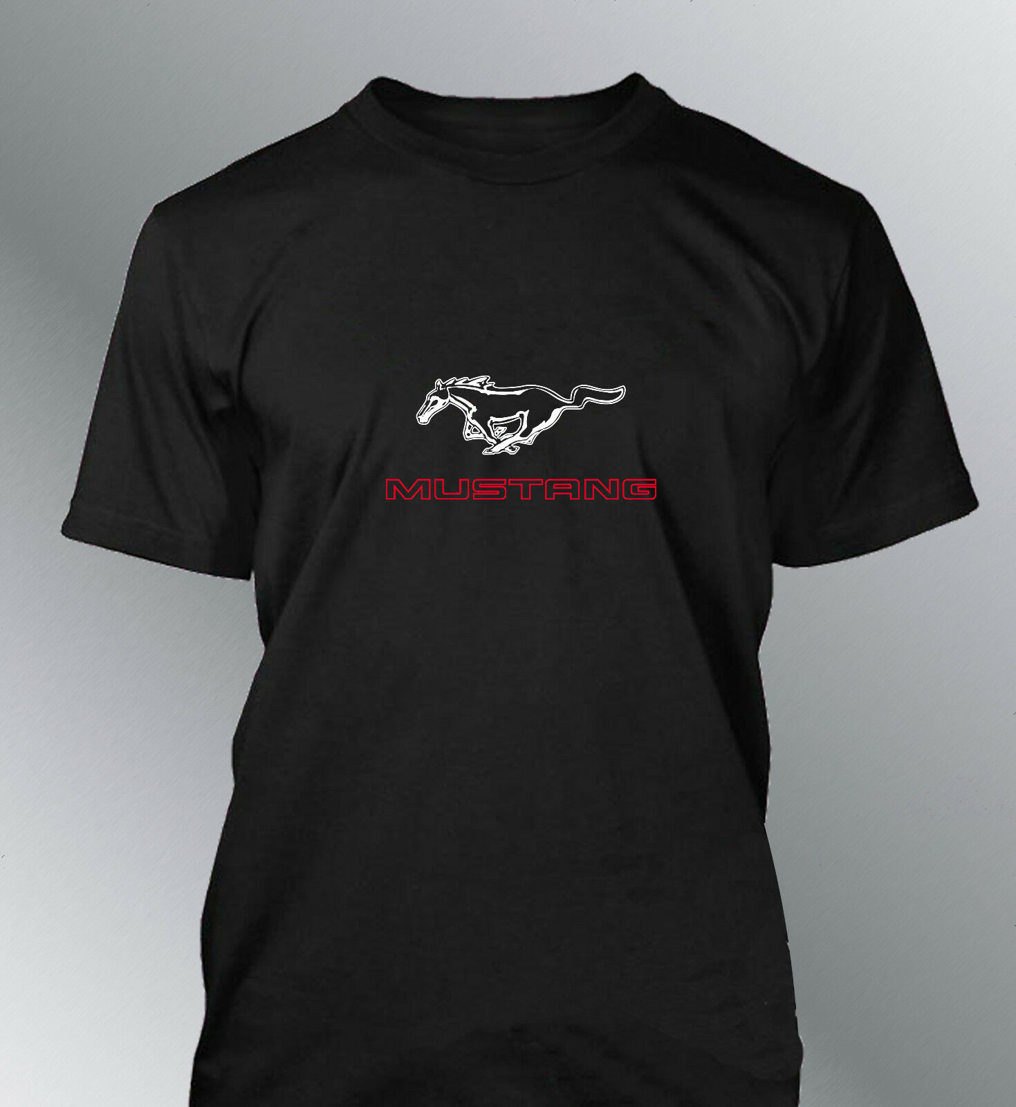 Camiseta Personalizado Mustang Hombre Gt500 Shelby Muscle Coche Motorycle Unisex Tees