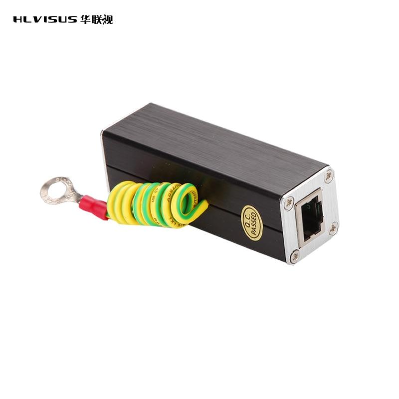 LAN & IP Camera Network RJ45 Surge Protector,Protection device, Lightning Arrester,SPD for 100M Ethernet Network  недорого