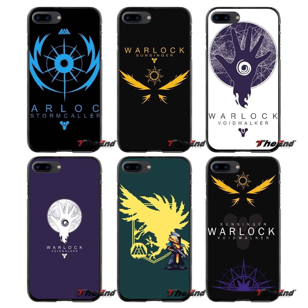 For Apple iPhone 4 4S 5 5S 5C SE 6 6S 7 8 Plus X iPod Touch 4 5 6 fashion game destiny Warlock Accessories Phone Shell Covers