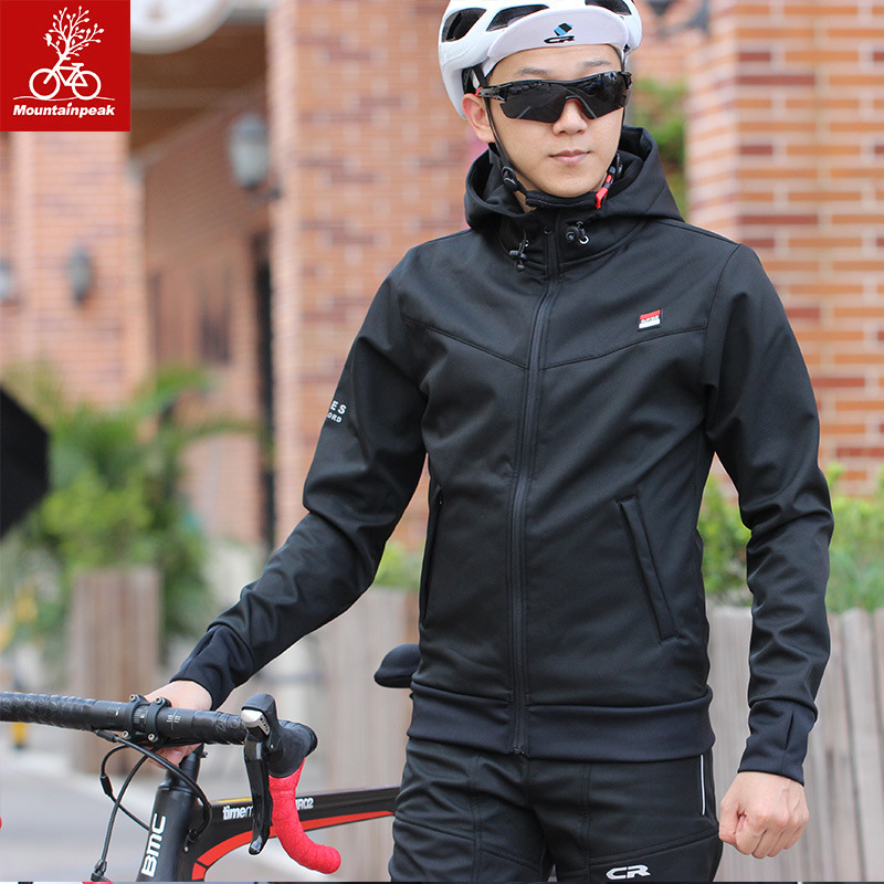 Winter Cycling Jacket Sets Fit Men Women Windproof Waterproof Warm Outdoor Sports Clothing Bicycle Running Equipment|Cycling Sets| |  - title=