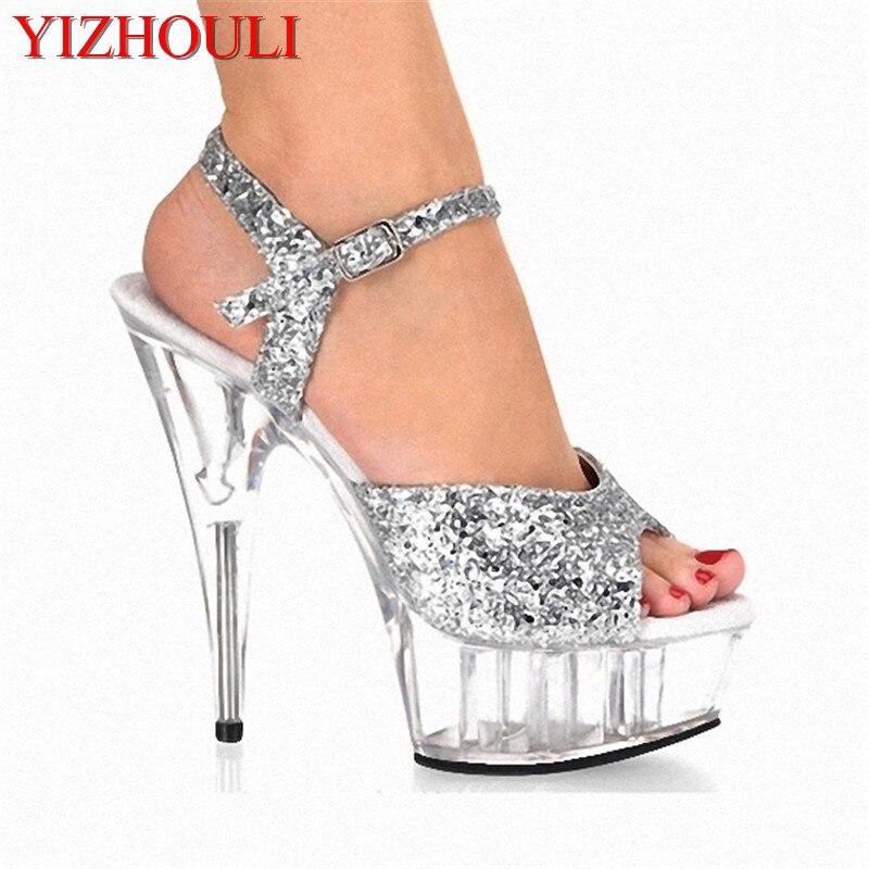 Romain Européenne En Talons Chaussures Hauts 15 Le Style De 15cm À Femmes Mode Ornent Et Cm Paillettes Chaussures Sandales Usine Gros T4CwSTq