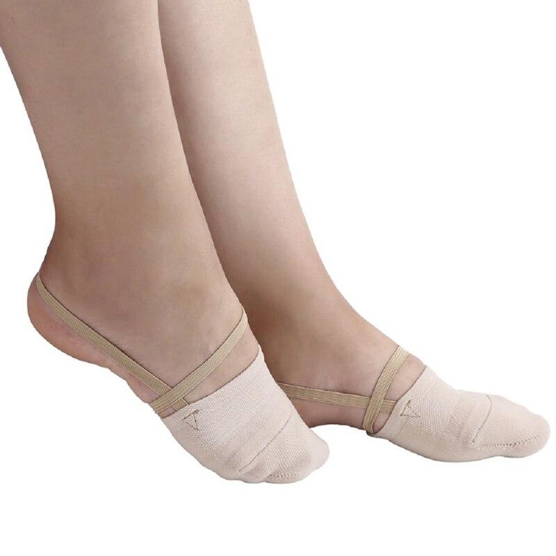 Women Socks Cotton Half Feet Antiskid Invisible Liner No Show Low Cut Sling Sock