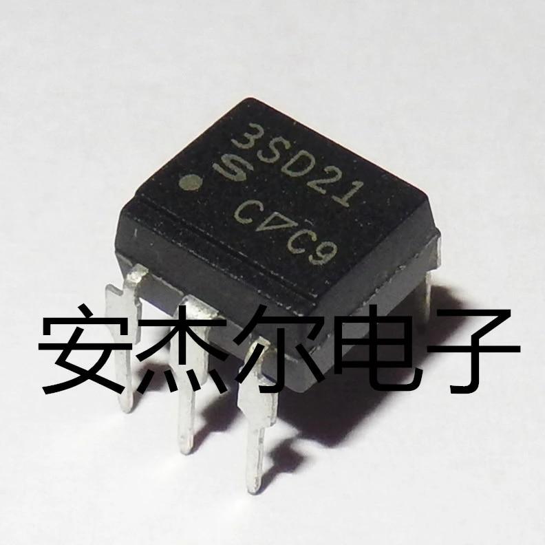 PC3SF21YTZ Optocoupleur sortie triac DIP-6 Sharp lot de 10