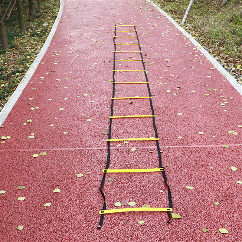 LumiParty 7m 13pcs Ladder For Football Soccer Training Speed Agility Ladder Fitness Feet Training Ladder Step Soccer Accessories цена