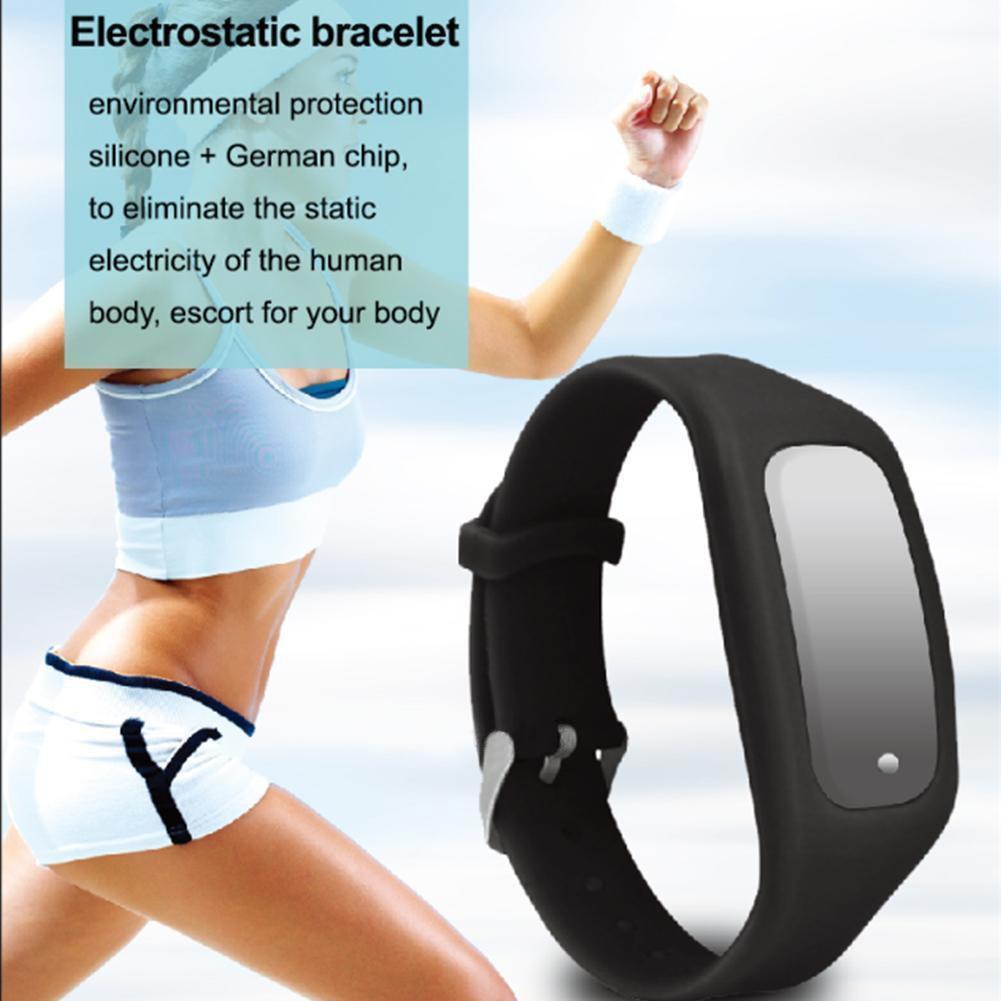 New Wireless Anti-static Bracelet Static Eliminator Electrostatic Remover Wrist Band GDeals