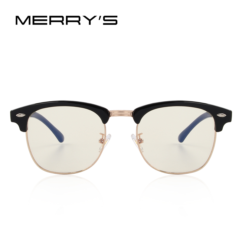 7c1ef45f6f MERRY S Anti Blue Rays Computer Goggles Reading Glasses 100% UV400 Radiation  resistant Computer Gaming Glasses S 2065-in Eyewear Frames from Apparel ...