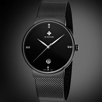 Waterproof Ultra Thin Dial Men's Watches 2