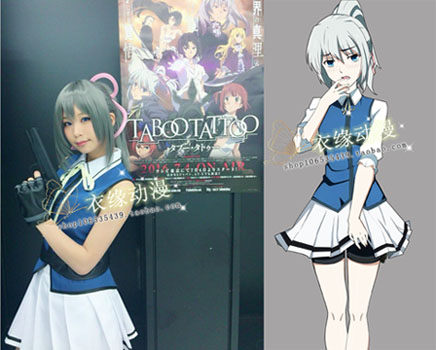 2016 nouveauté japonais Anime tabou tatouage femmes Cosplay Costumes