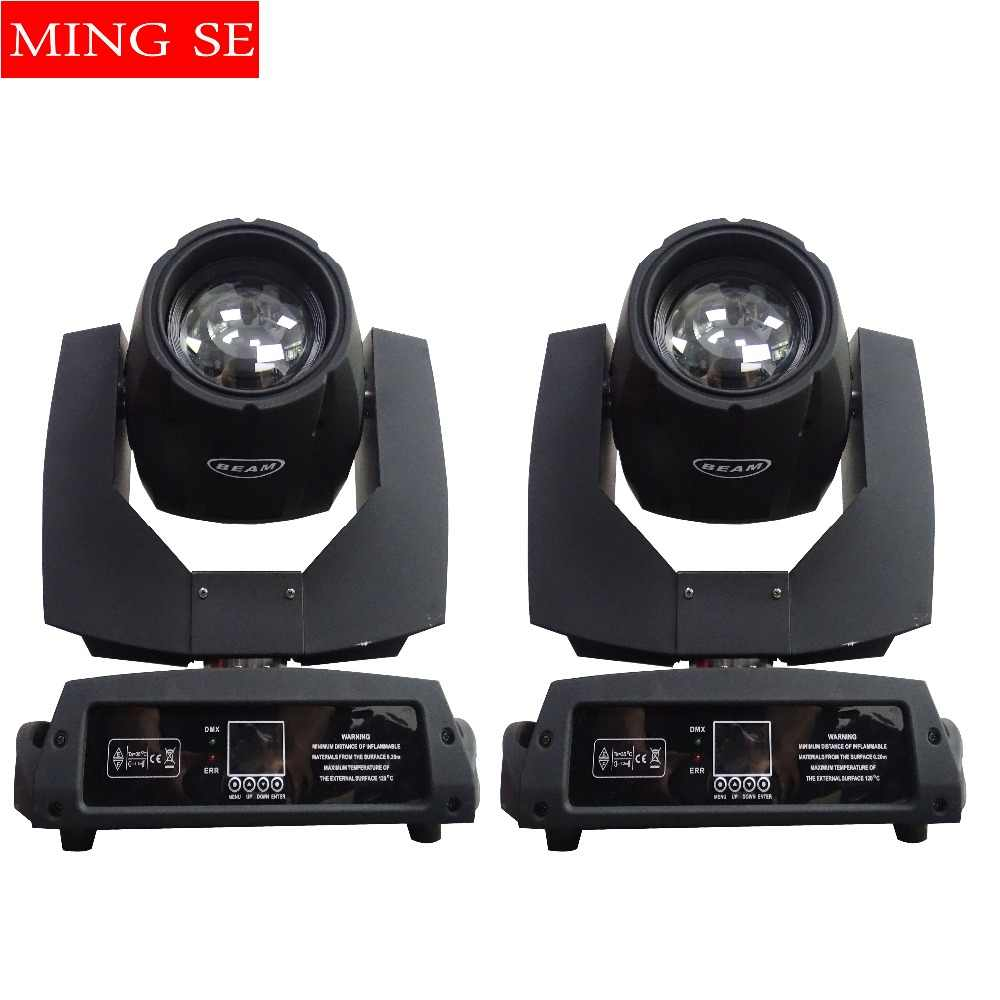 2pcs 230w 7r Beam Light DMX512 Control Moving Head Lights Or 2 in 1 Flight Case Professional Stage Party Stage Lighting Effect