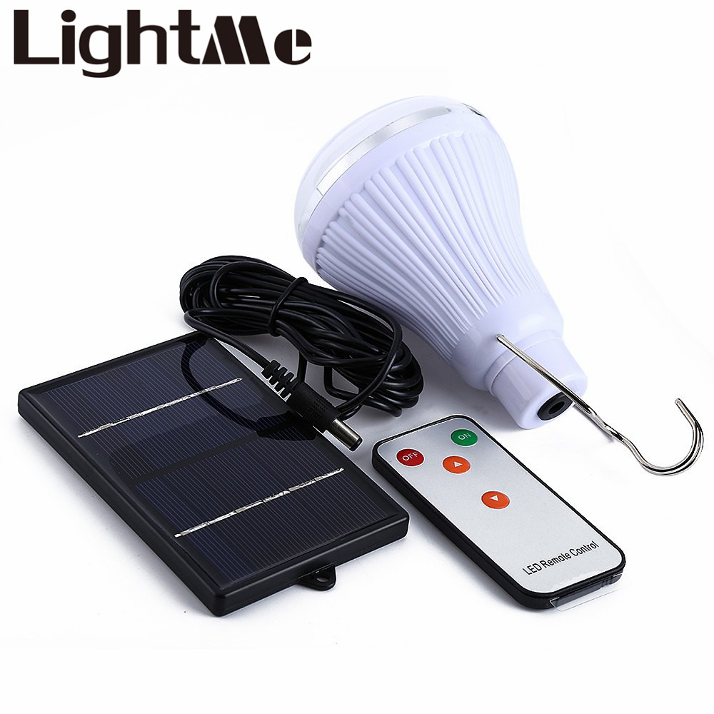 Super Bright Dimmable 6V 20 LED remote control solar light Outdoor Garden Decoration 1W Solar Panel