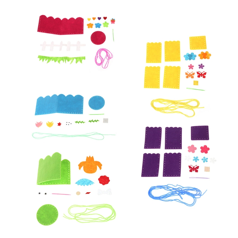 Creative DIY Craft Kit Handmade Pencil Holder Kids Craft Toy Educational toys