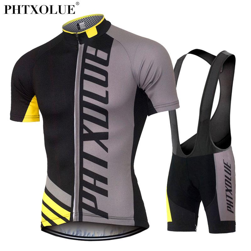 Prix pour Phtxolue cyclisme vêtements/rapide-sec vtt vélo maillot set/vélo cyle vêtements porter roupa ciclismo d'été cyclisme ensembles 2016 hommes