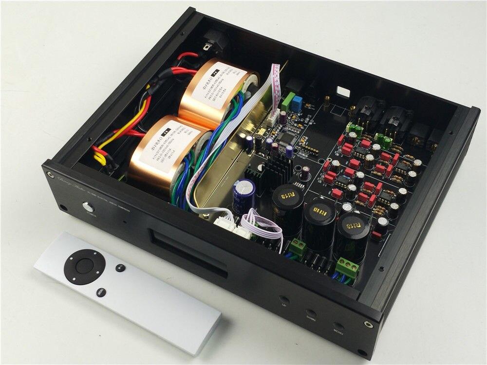 Décodeur hi-fi haut de gamme DAC ES9038 ES9038PRO audio DSD crystek cchd-575 MUSES03 + MUSES02 convertisseur audio original numérique vers analogique