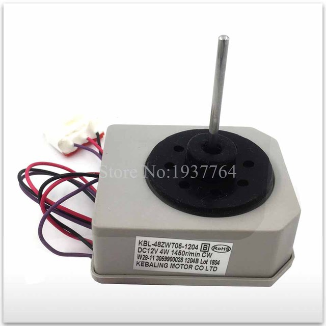 US $37 01 7% OFF|Fast shipping DPEX / AliExpress Premium Shipping new for  good working for Refrigerator motor freezer motor KBL 48ZWT05 1204-in