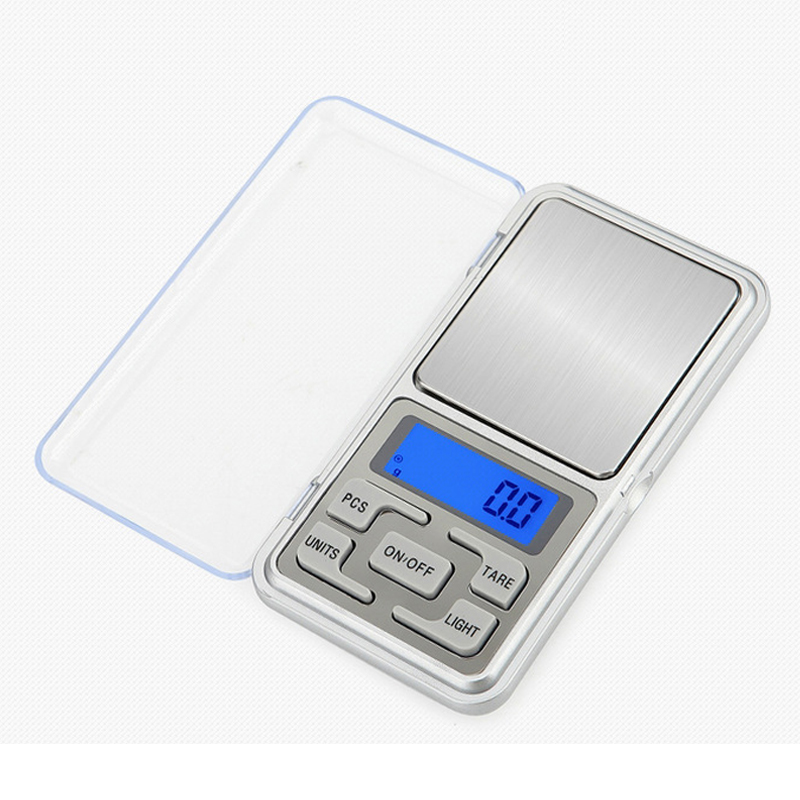 Mini Digital Pocket Scale 0.01 Gram Jewelry Scales for Diamond Gold Bijoux Sterling Electronic Balance Accuracy For Kitchen