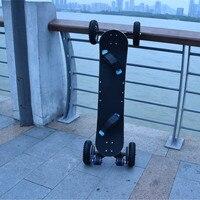 CE FCC off road мощный 1650 Вт * 2 увеличенный Электрический скейтборд