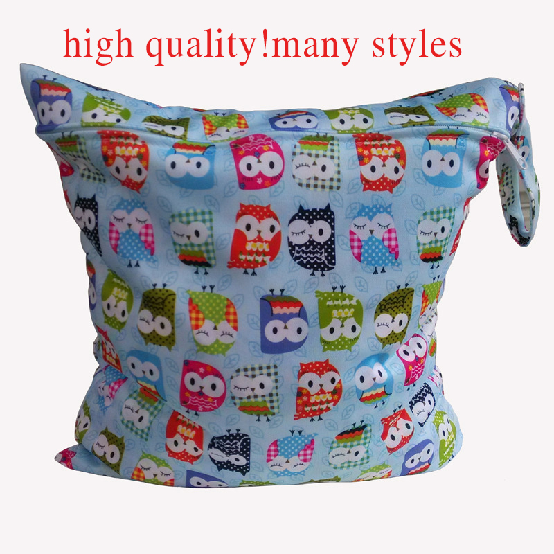 2017 Hot Cartoon Wetbag Wet Bag Waterproof  Nappy Bags for Stroller Mother Mom Backpack Maternity Changing Diaper Bags Baby Care