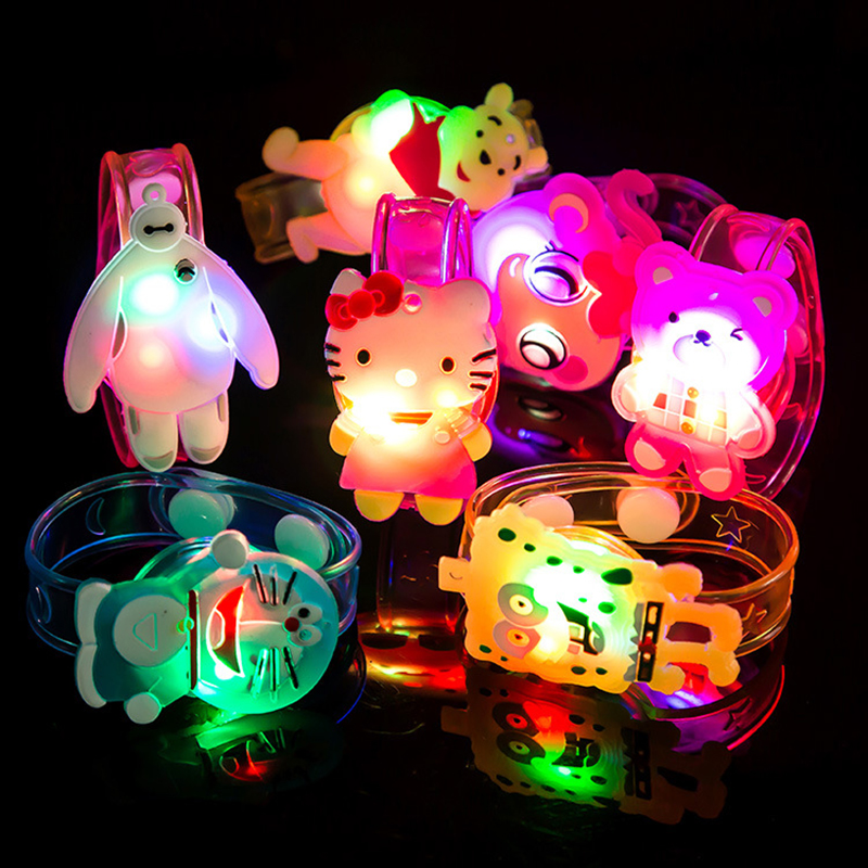 Creative easter gifts reviews online shopping creative easter 1pcs hot creative cartoon watch boys girls flash wrist band glow luminous bracelets childrens daybirthday party gifts toys negle Choice Image