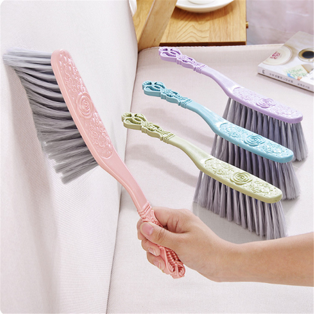 Cleaning Brush Dust Brush Household Plastic Handle Sofa Bed Sheets Bedspread Dry Cleaning Brush Household Cleaning Tools
