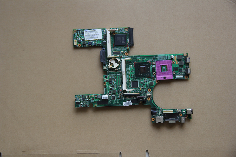 цена на 446904-001 For HP 6510B 6710B Laptop motherboard with Graphics Slot 965GM DDR2 fully tested work perfect