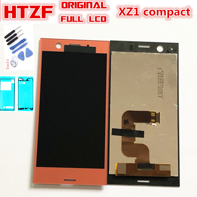 4.6 Original LCD for SONY Xperia XZ1 Compact Display Touch Screen Replacement for SONY Xperia XZ1 Compact Mini LCD G8441 G8442 4.6 Original LCD for SONY Xperia XZ1 Compact Display Touch Screen Replacement for SONY Xperia XZ1 Compact Mini LCD G8441 G8442