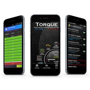 Image 2 - Vgate iCar2 OBDII elm 327 Bluetooth/wifi קוד קורא אוטומטי אבחון כלי obd2 סורק ELM327 OBD 2 אבחון ממשק מתאם