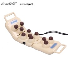 Thermal germanium therapy device handhold Foldable 11 natural handheld massage machine tourmaline balls projector