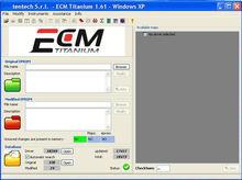 ECM TITANIUM V1.61 Checksum com 18475 Software de Driver para KESS V2 Ktag ECU Ferramenta de Programação
