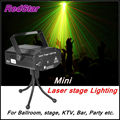 [RedStar]Mini laser stage lighting sound control automatic mode with stroke function For stage KTV party whosale retail packing