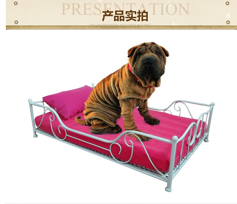 beautiful iron dog bed pet dog house lovely soft suitable pet bed high quality products in - Beautiful Dog Houses