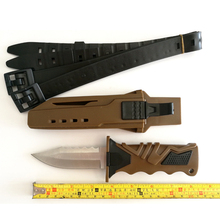 58HRC Fixed Blade Hunting Knife Navajas Cuchillos Tactical Knife Outdoor Diving Survival Knife